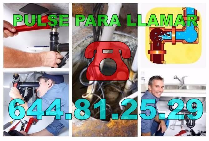 Desatascos Gran Alacant y Fontaneros Gran Alacant economicos de urgencia 24H
