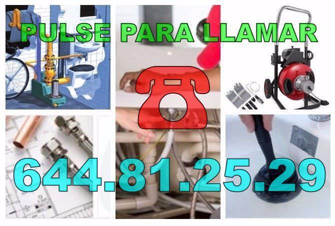 Desatascos Aspe & Fontaneros Aspe económicos urgentes 24hs