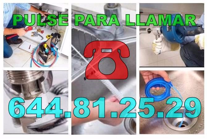 Fontaneros El Chaparral y Desatascos El Chaparral baratos de urgencia 24 horas