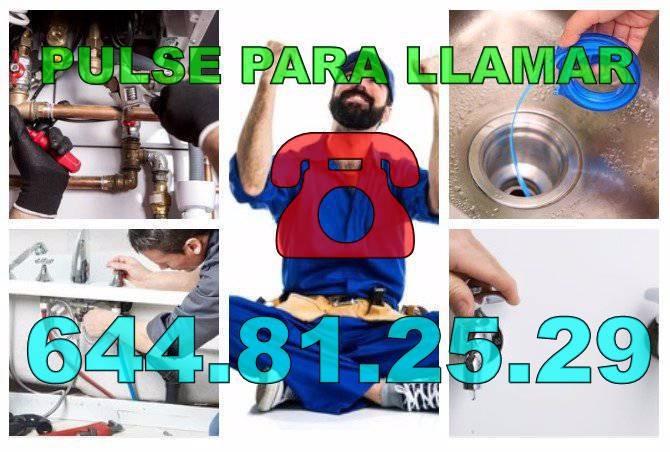 Desatascos El Bacarot y Fontaneros El Bacarot baratos de urgencia 24-horas