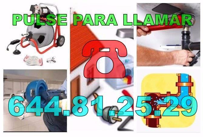 Desatascos La Marina Del Pinet & Fontaneros La Marina Del Pinet baratos de Urgencia 24 Horas