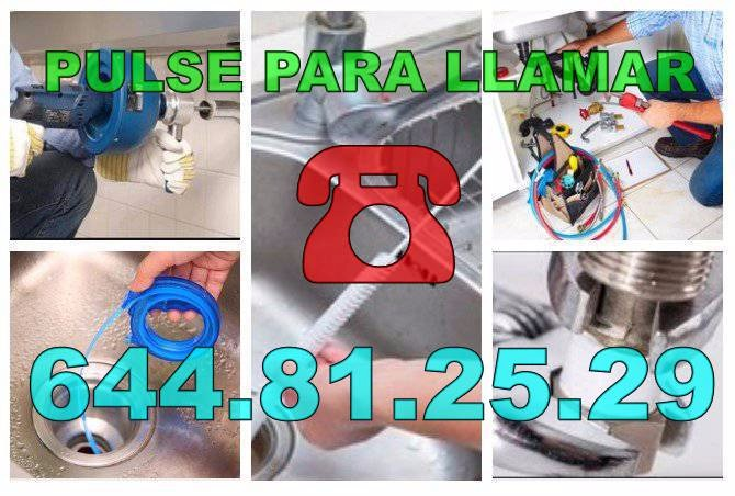 Fontaneros Santa Pola & Desatascos Santa Pola Economicos de Urgencia 24Hs