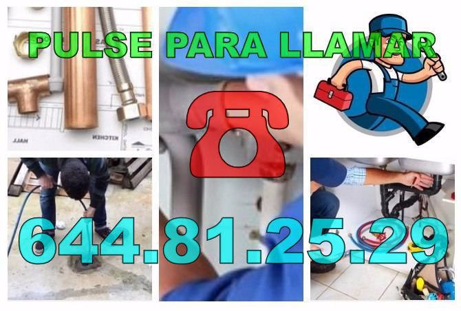 Empresas Fontaneros Orcheta - Desatascos Orcheta baratos de Urgencia 24hs
