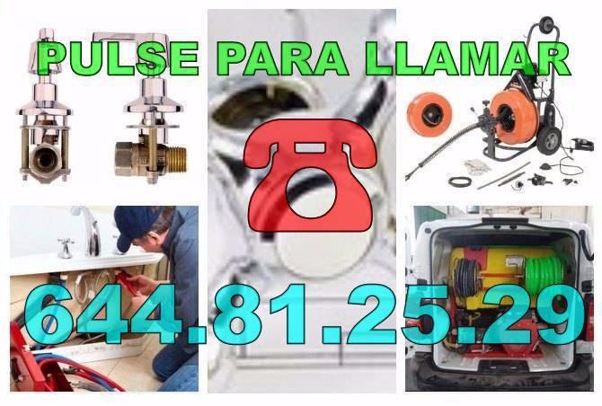 Empresas de Desatascos El Raso - Fontaneros El Raso Económicos de Urgencia 24-Horas