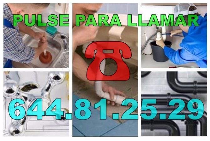 Fontaneros Monóvar & Desatascos Monóvar baratos Urgentes 24 Horas