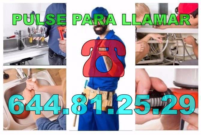 Fontaneros Daya Vieja & Desatascos Daya Vieja económicos urgentes 24H