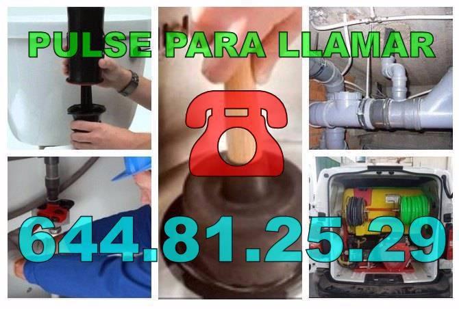 Fontaneros El Campello & Desatascos El Campello económicos Urgentes 24h