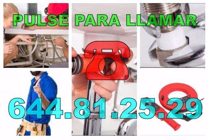Fontaneros Benejúzar & Desatascos Benejúzar económicos urgentes 24Hs