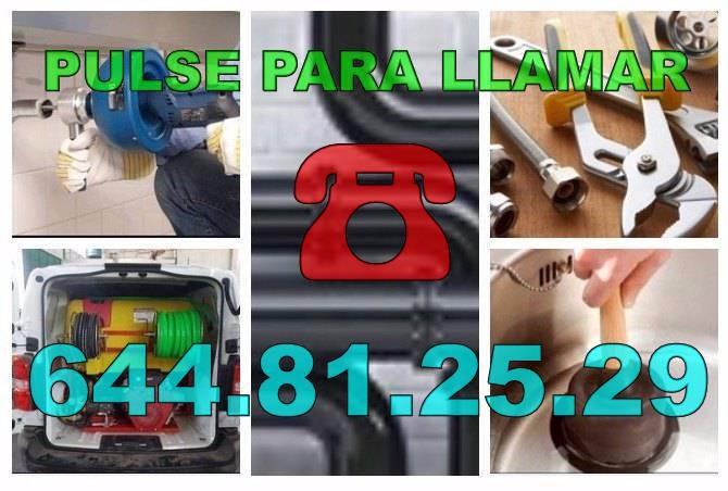 Desatascos El Raso & Fontaneros El Raso Economicos Urgentes 24Hs