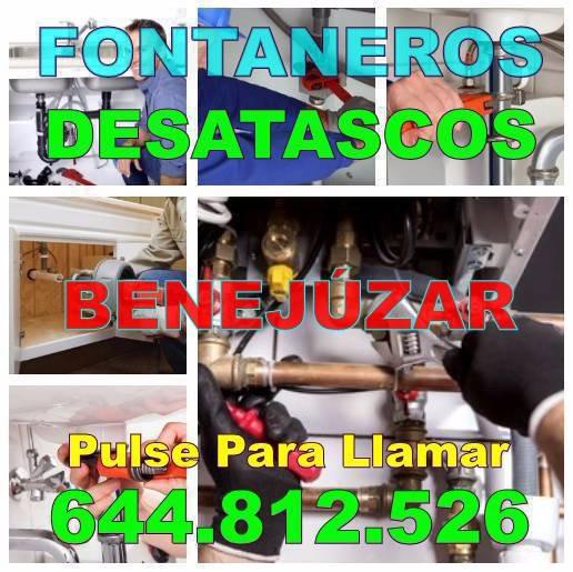 Desatascos Benejúzar y Fontaneros Benejúzar Baratos urgentes 24 Horas