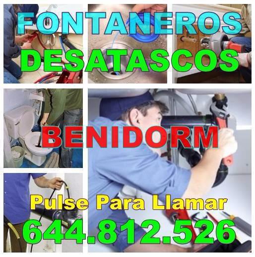 Fontaneros Benidorm - Desatascos Benidorm Economicos Urgentes 24 Horas