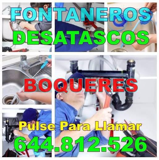 Fontaneros Boqueres y Desatascos Boqueres económicos de urgencia 24hs
