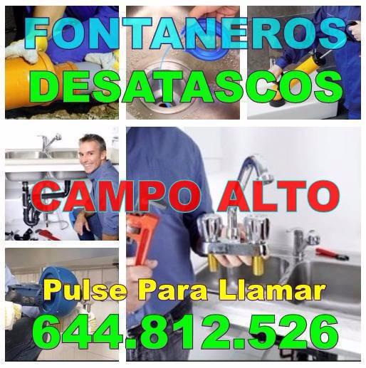 Empresa Fontaneros Campo Alto - Desatascos Campo Alto económicos urgentes 24Hs