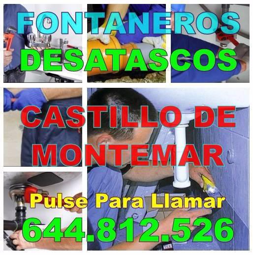 Fontaneros Castillo de Montemar - Desatascos Castillo de Montemar economicos de Urgencia 24hs