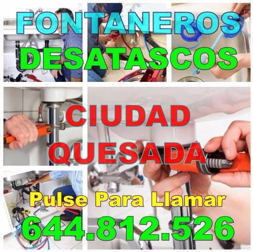 Desatascos Ciudad Quesada & Fontaneros Ciudad Quesada Baratos de urgencia 24hs