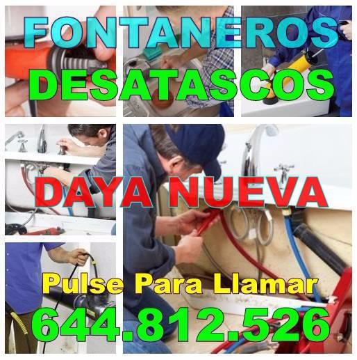 Desatascos Daya Nueva & Fontaneros Daya Nueva Baratos de urgencia 24-horas