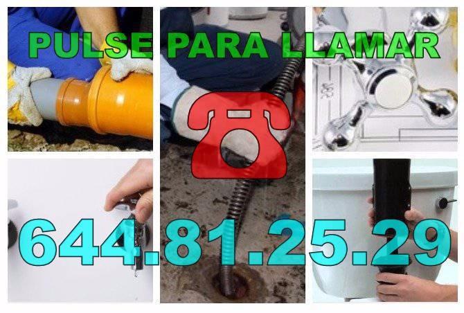 Empresa de Desatascos Callosa de Segura * Fontaneros Callosa de Segura económicos Urgentes 24h