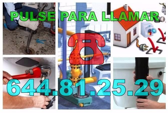 Empresa Desatascos Monóvar & Fontaneros Monóvar baratos de urgencia 24H