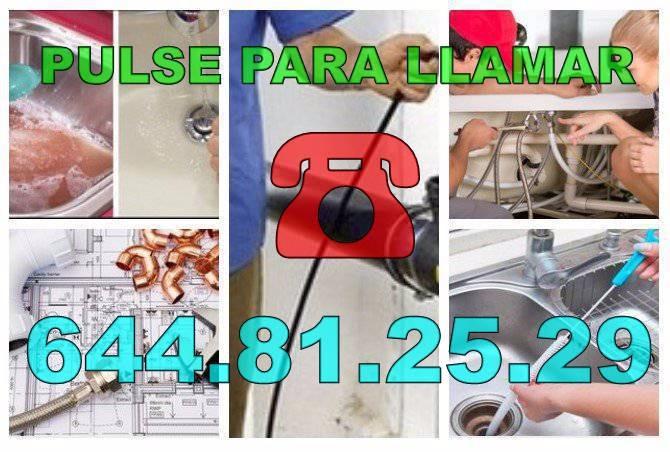 Fontaneros El Rebalso & Desatascos El Rebalso economicos de urgencia 24-Horas
