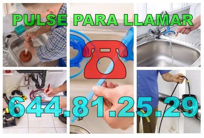 Desatascos Las Bayas * Fontaneros Las Bayas económicos urgentes 24hs