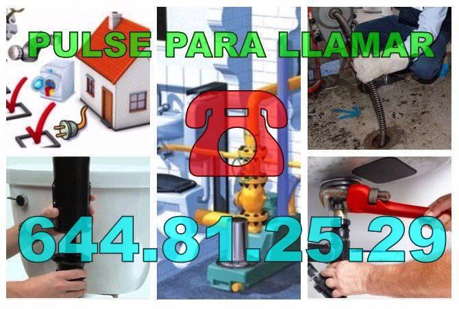 Desatascos Daya Nueva - Fontaneros Daya Nueva Baratos de Urgencia 24Hs