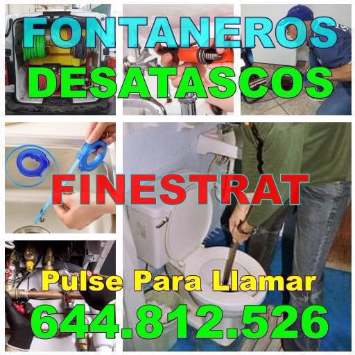 Empresas Desatascos Finestrat - Fontaneros Finestrat baratos urgentes 24Hs