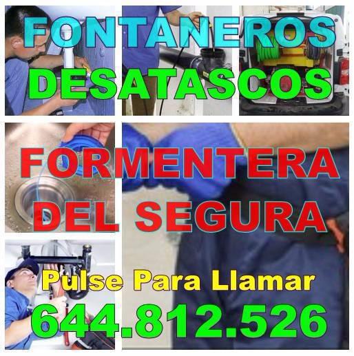 Empresas Desatascos Formentera del Segura - Fontaneros Formentera del Segura economicos de urgencia 24h