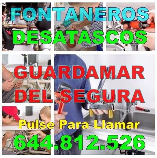 Fontaneros Guardamar del Segura & Desatascos Guardamar del Segura Baratos de Urgencia 24hs