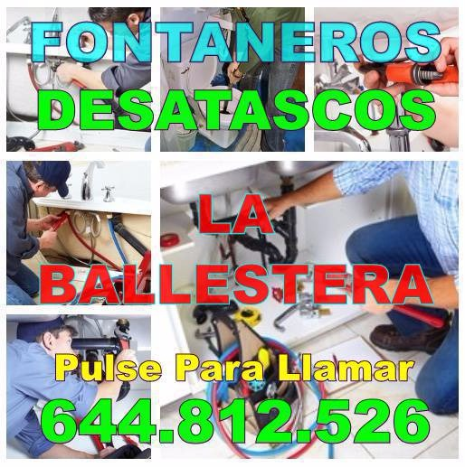 Empresas Desatascos La Ballestera - Fontaneros La Ballestera Económicos de Urgencia 24H