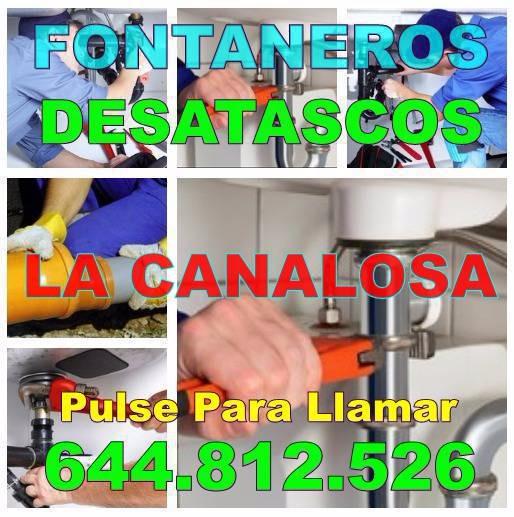 Empresa Fontaneros La Canalosa & Desatascos La Canalosa Baratos Urgentes 24hs