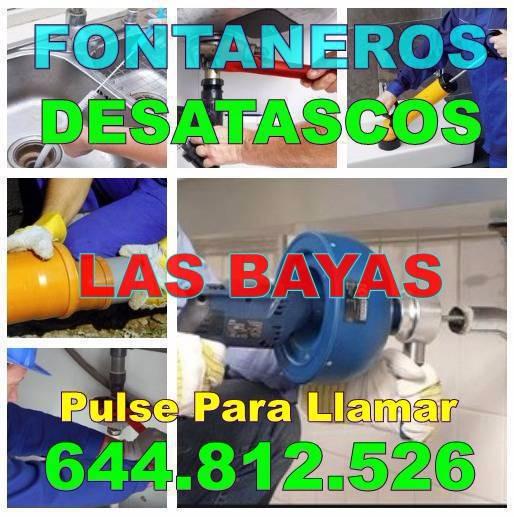 Desatascos Las Bayas & Fontaneros Las Bayas Baratos Urgentes 24 horas
