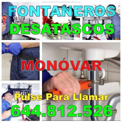 Desatascos Monóvar & Fontaneros Monóvar Economicos de Urgencia 24h