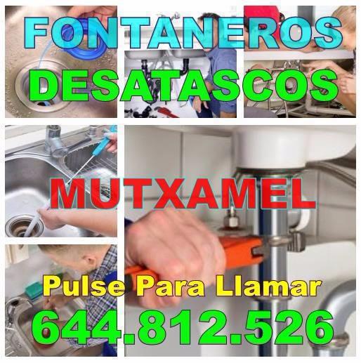 Desatascos Mutxamel & Fontaneros Mutxamel económicos de Urgencia 24-horas