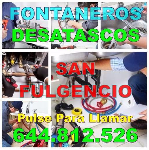 Empresas Desatascos San Fulgencio & Fontaneros San Fulgencio Economicos urgentes 24-horas