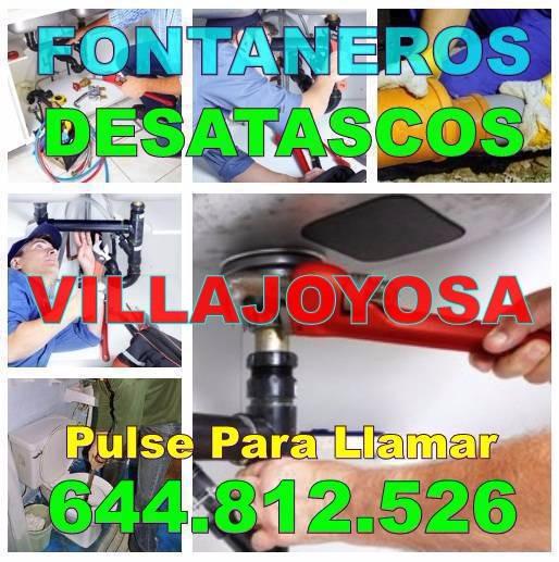 Fontaneros Villajoyosa & Desatascos Villajoyosa Económicos de Urgencia 24-horas